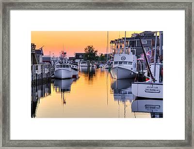 Fisherman's Cove. Eastern Passage. Near Dartmouth Nova Scotia. Framed Print