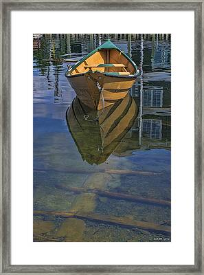 Fisherman's Cove  Framed Print