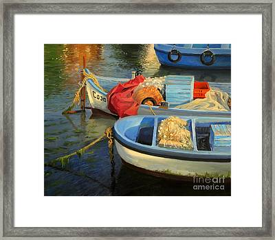 Fisherman's Etude Framed Print by Kiril Stanchev