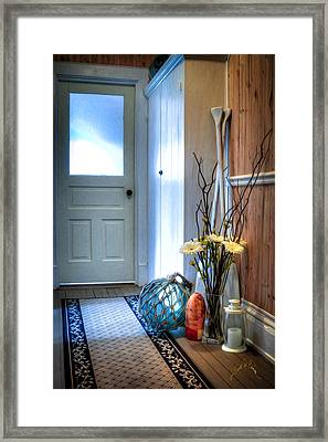 Fishermans Hallway Framed Print by Williams-Cairns Photography LLC