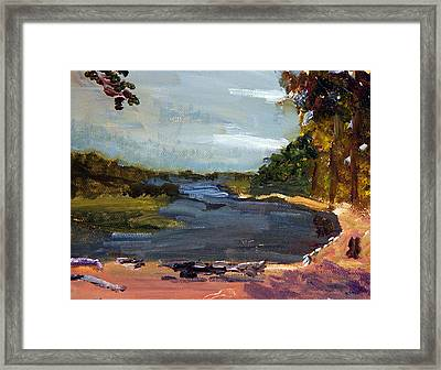 Fisherman's Landing Framed Print