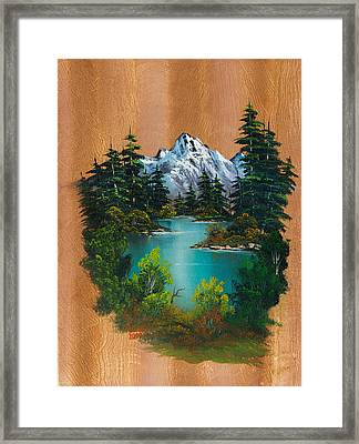Angler's Fantasy Framed Print