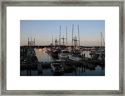 Fisherman's Pride Framed Print