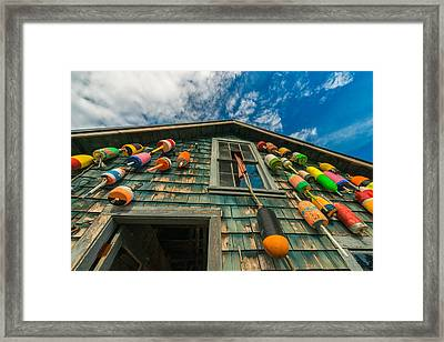 Fisherman's Shack Framed Print