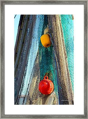 Fisherman's Tools Framed Print