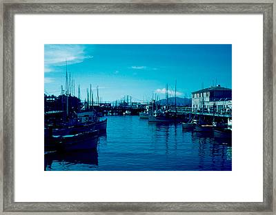 Fisherman's Wharf 1955 Framed Print by Cumberland Warden