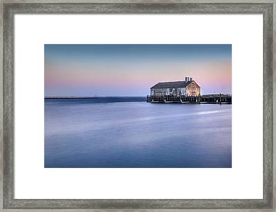 Fishermans Wharf Framed Print by Bill Wakeley