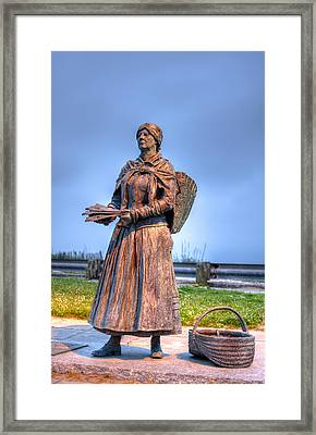 Fisherman's Wife Framed Print