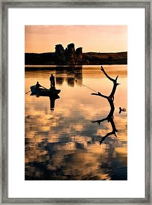 Fishermen Framed Print