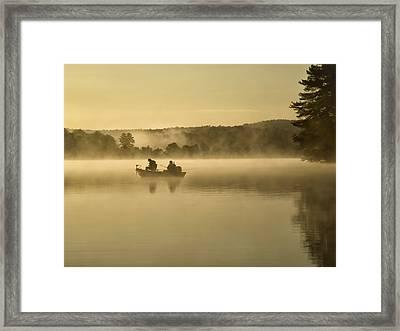 Fishermen Framed Print by Steven Michael