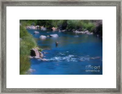 Fishermen Dream Framed Print