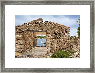 Fishermen's House Framed Print by Antonio Macias Marin