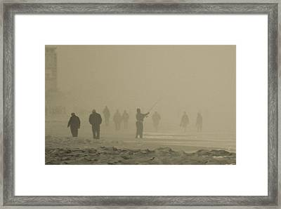 Fishers Of Men Framed Print by Paulette Maffucci