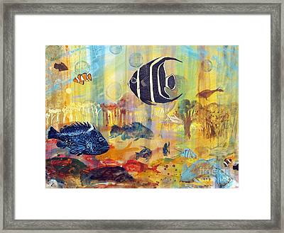 Fishes Framed Print by Robin Maria Pedrero