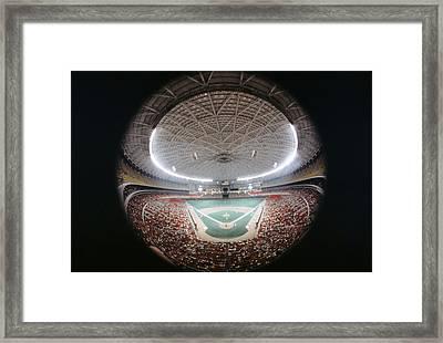 Houston Astrodome Framed Print