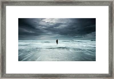 Fishing A Dream Framed Print