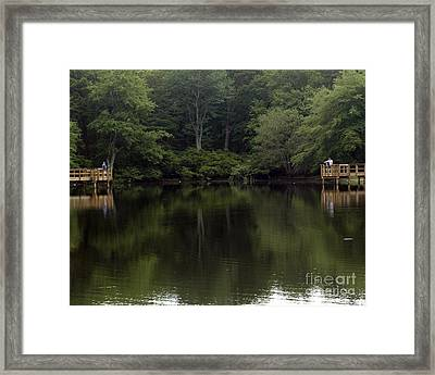 Fishing Adventure Framed Print