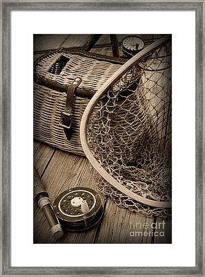 Fishing - All That Gear Framed Print