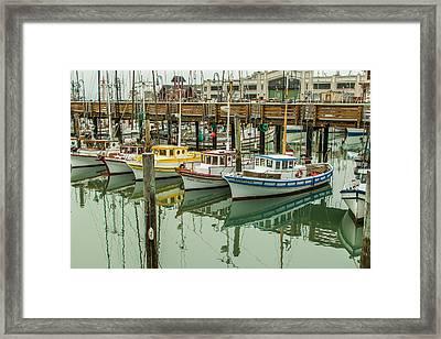 Fishing Boat 2 Framed Print