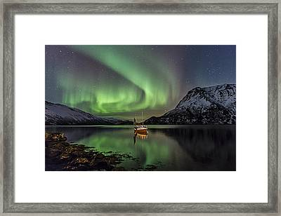 Fishing Boat II Framed Print