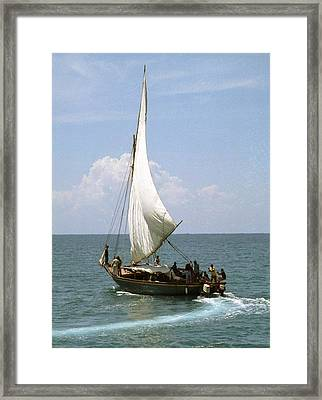 Fishing Boat Framed Print by Marianne Miles