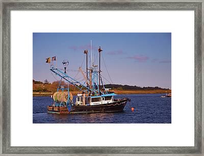 Fishing Boat Newburyport Framed Print