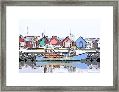 Fishing Boat Framed Print