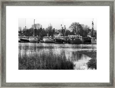 Fishing Boats Framed Print by Eric Gendron