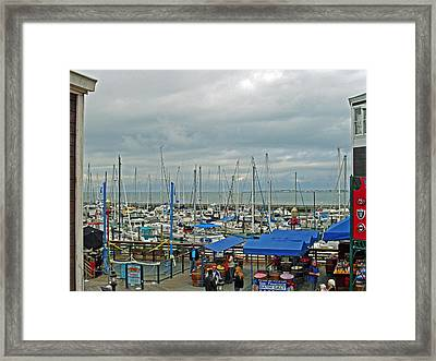 Fishing Boats Framed Print by Mike Podhorzer