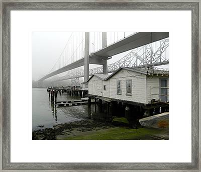 Fishing Clubhouse Framed Print by Garrett Nyland