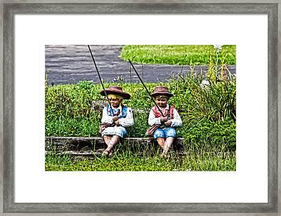 Fishing Day Framed Print