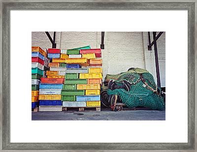 Fishing Equipment Framed Print by Benjamin Matthijs