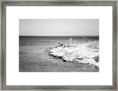 Framed Print featuring the photograph Fishing by Erika Weber