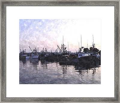 Fishing Fleet Ffwc Framed Print by Jim Brage