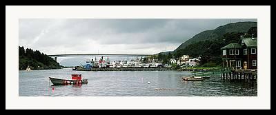 Kodiak Island Framed Prints