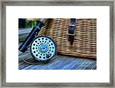 Fishing - Fly Fishing Framed Print