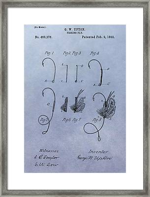 Fishing Fly Patent Framed Print