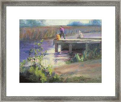 Fishing Fools Framed Print