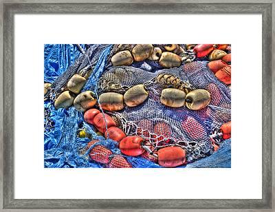 Fishing Gear Framed Print by Heidi Smith