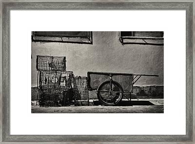 Fishing Gear Framed Print by Pablo Lopez