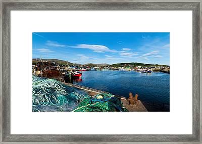 Fishing Harbor, Dingle Harbour, Dingle Framed Print