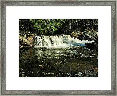 Framed Print featuring the photograph Fishing Hole by Sherman Perry