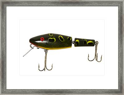 Fishing Lure 6 A Framed Print by John Brueske