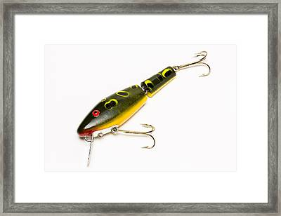 Fishing Lure 6 B Framed Print by John Brueske