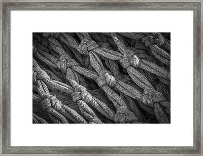 Fishing Net Framed Print