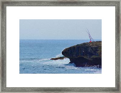 Fishing Framed Print by Nur Roy