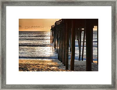 Fishing Pier IIi Framed Print by Steven Ainsworth
