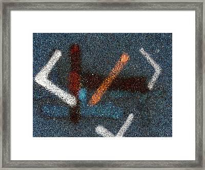Fishing Framed Print by Robert M Cooper
