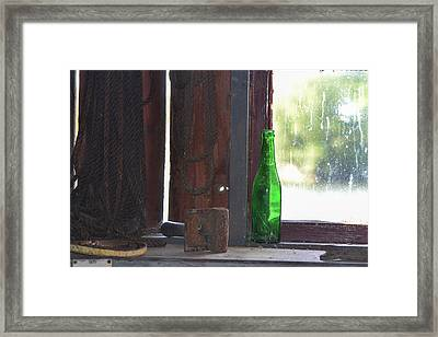 Fishing Shack 1 Framed Print by Bill Mock