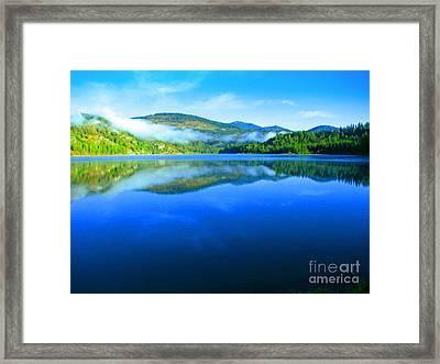 Fishing Spot 5 Framed Print by Greg Patzer